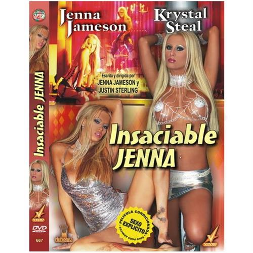 DVD XXX Insaciable Jenna